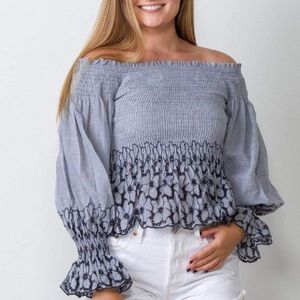 NEW Storia Finley Floral Top